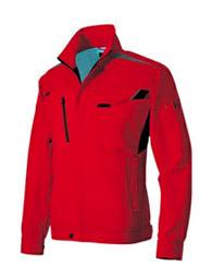 AZ-2501 アイトス ストレッチ裏綿シリーズ 美しさと動きやすさを兼ね備えたストレスフリーのワークウエア 長袖ブルゾン